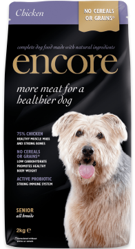 24202E-E EncDryDog 2kg Senior Chicken